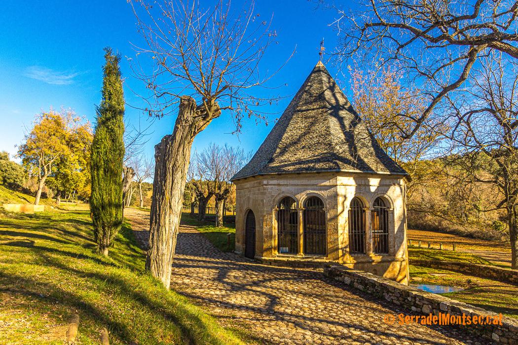 Ermita de Sant Medard. Benavarri, Ribagorça. Osca, Aragó. Montsec d'Estall.