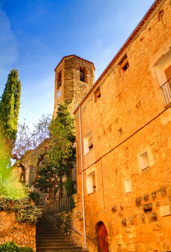 Església de Sant Feliu, Alòs de Balaguer. La Noguera, Lleida. Catalunya, Montsec de Rúbies.