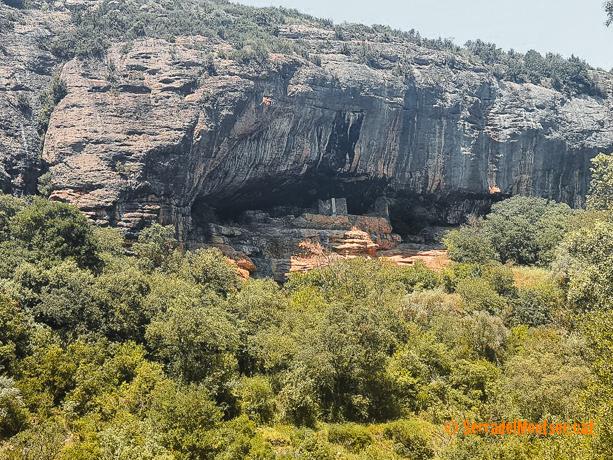 Cova de la Vansa, Tòrrec. Vilanova de Meià, La Noguera. Lleida, Catalunya. Montsec de Rúbies (o de Meià).