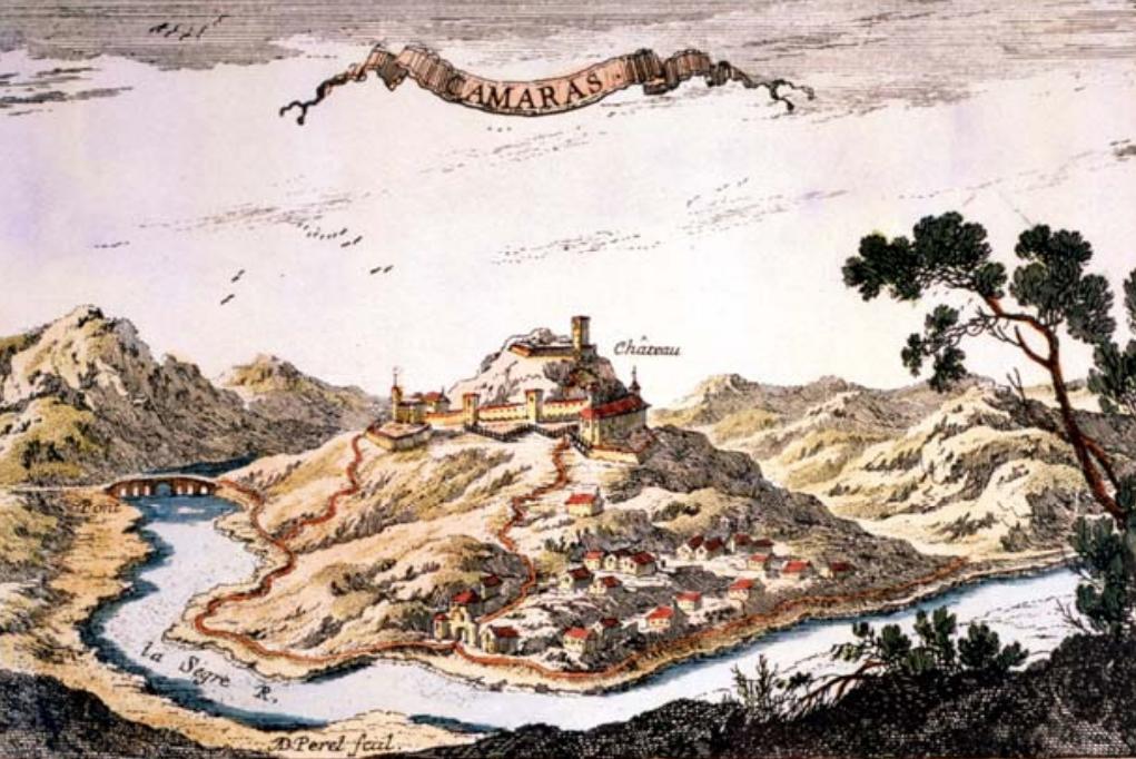 Gravat de Camarasa d'Adam Perel de 1660