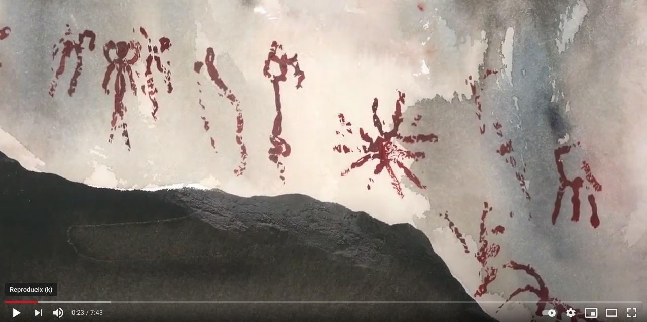 Les pintures de la Cova del Tabac-curtmetratge