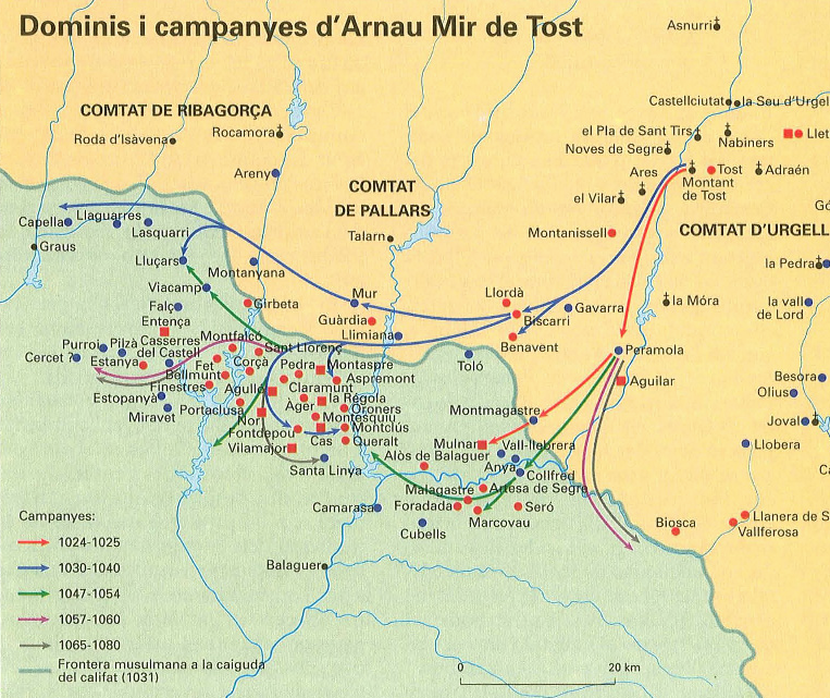 """Dominis i Campanyes d'Arnau Mir de Tost. Font: <a href=""""https://www.enciclopedia.cat/"""" target=""""_blank"""">Enciclopèdia Catalana</a>."""