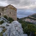 Ermita de Santa Quitèria i Sant Bonifaci de Montfalcó. Viacamp, Ribagorça d'Osca. Aragó, Montsec d'Estall.