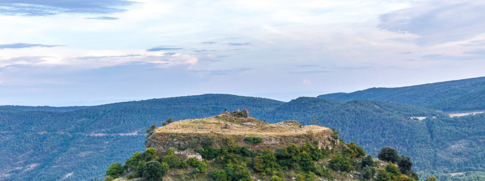 Castell de Toló. Gavet de la Conca