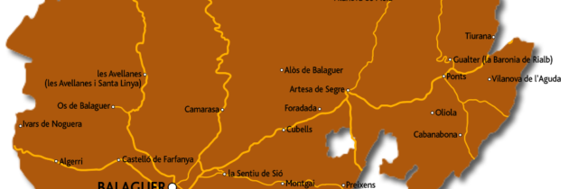 La Comarca de La Noguera, la més extensa de Catalunya