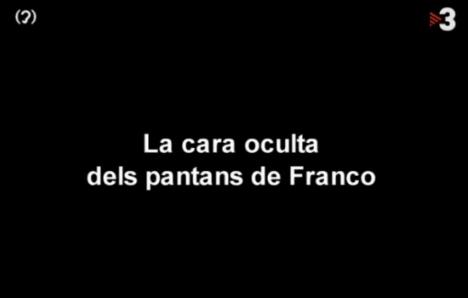 Documental 'La cara oculta dels pantans de Franco', dirigit per Manel Campo Vidal.