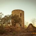 Torre Mestre del Castell de Torres de Cas, Àger. La Noguera, Lleida. Catalunya. Montsec d'Ares.
