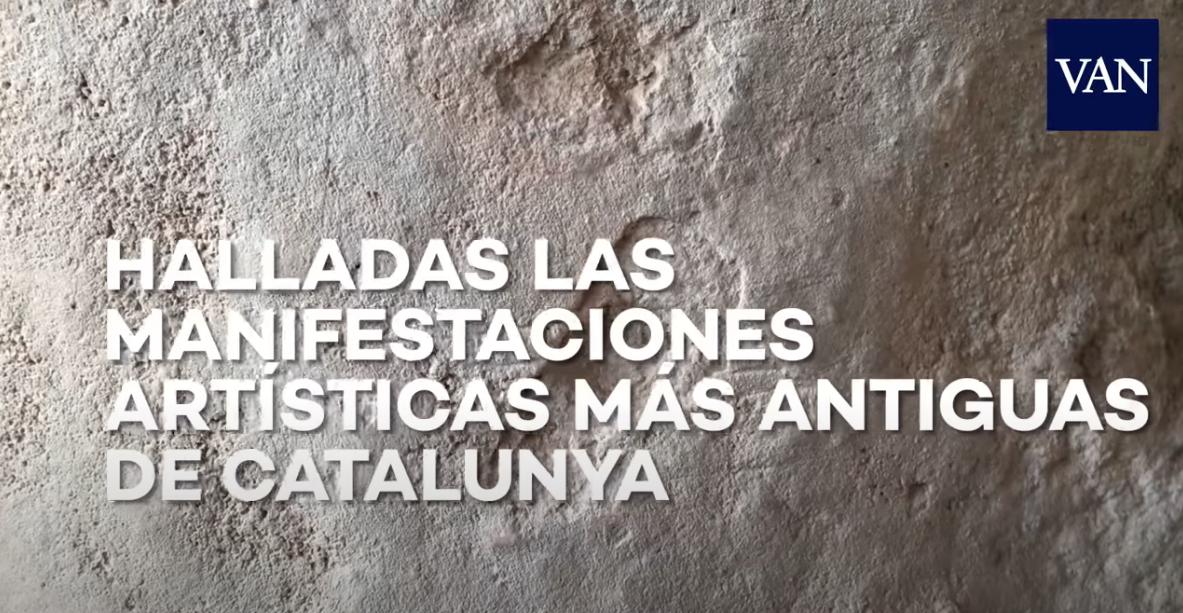 Vídeo del diari La Vanguardia, on Jezabel Pizarro (arqueòloga) explica la trobada d'art rupestres a la Cova Gran de Santa Linya. La Noguera, Lleida. Catalunya. Aspres del Montsec.